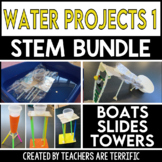 Water 1 STEM Challenges Bundle