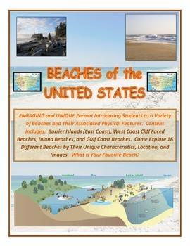 Water: 16 U.S. Beaches-VERY UNIQUE (Come Explore the Unite