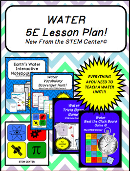 Water 5 E Lesson Plan