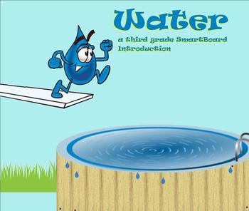 Water - A Third Grade SmartBoard Introduction