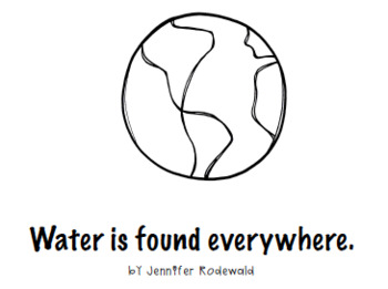 Water All Around : Shared Reading Bundle (Black and white and Color)
