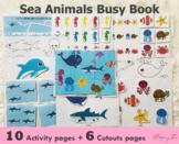 Sea Animals Busy Book | Learning Binder | SKU0012
