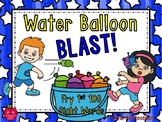 Water Balloon Blast | Fry 1st 100 Sight Words | Card Game