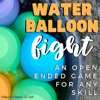 Water Balloon Fight! {a fun, open-ended reinforcement game}