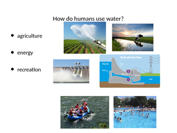 Water Benefits to Humans