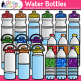 Water Bottle Clip Art {Drink Containers for Classroom Mana