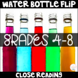 Water Bottle Flip Challenge Activities, Contest, and Close Reading