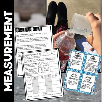 Water Bottle Flipping STEM Challenge