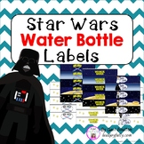 Water Bottle Labels (Star Wars Inspired Theme)