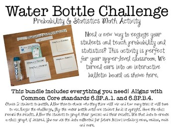 Water Bottle Math Challenge