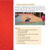 Water Bottle Rocket - Alka Seltzer and water make recycled water bottle fly high