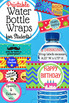 Water Bottle Wrap Labels