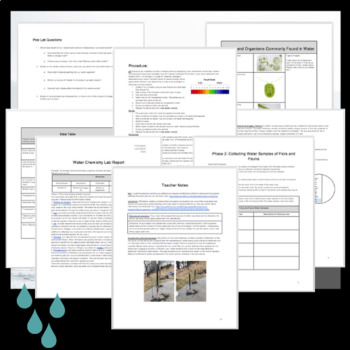 Water Chemistry Lab: Testing pH, Nitrate, Phosphorus, Dissolved Oxygen & More