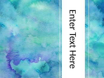 Water Color Backgrounds