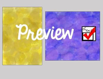 Water Color Digital Paper