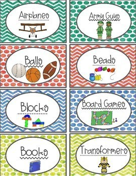 Water Color Play Area Labels 50% OFF for the first 48 hours!