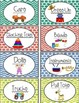 Water Color Play Area Labels