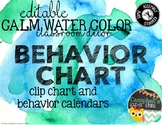 Water Color Theme {Clip Chart}