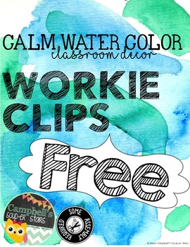 Water Color Theme {Workie Clips)