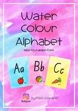 Water Colour Alpabet