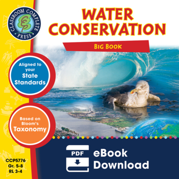 Water Conservation BIG BOOK - BUNDLE