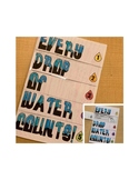 Water Conservation Foldable- Every Drop of Water Counts