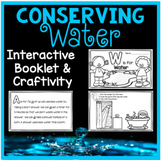Water Conservation Interactive Book and Craftivity - Dista