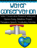 Water Conservation Research Webquest Project