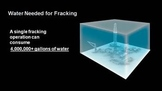 Water Consumption due to Fracking
