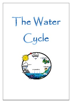Water Cycle Complete Unit