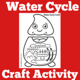 Water Cycle Worksheet Craft