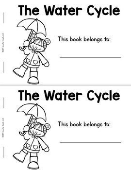 Water Cycle Guided Reading Book