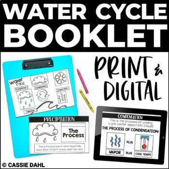 Water Cycle Booklet