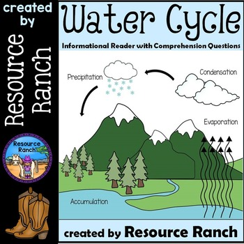 Water Cycle a Guided Reading Weather Resource