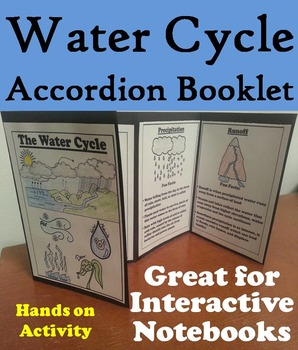 The Water Cycle Activity/ Foldable: Clouds, Precipitation, Condensation, etc.