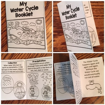 Water Cycle Book & Posters