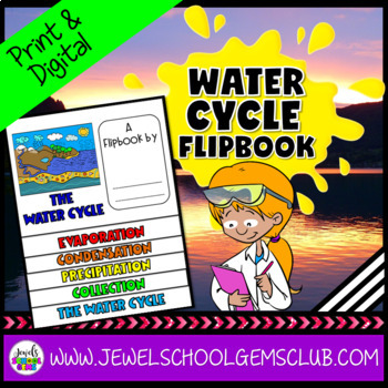 Water Cycle Activities (Water Cycle Flipbook)
