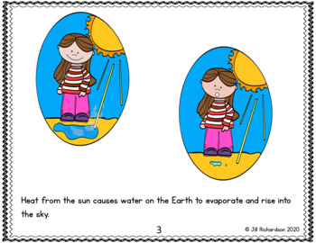 Water Cycle Emergent Reader