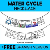 Necklace Craft - Water Cycle Activity