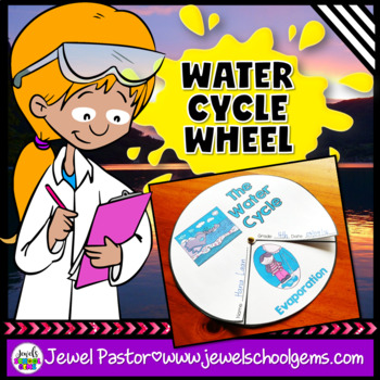 Water Cycle Activities FREE (Water Cycle Craft)