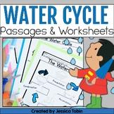 Water Cycle Worksheets with Google Classroom Distance Learning