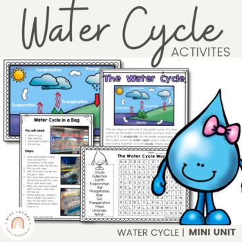 Water Cycle: A non-fiction mini unit