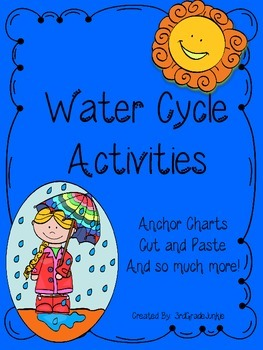 Water Cycle Activities and Anchor Charts
