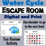 Water Cycle Activity: Escape Room - Science
