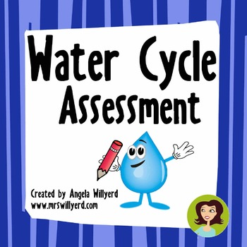 Water Cycle Assessment {Editable}