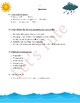 Environmental Science - Water Cycle | Assessment | Worksheets