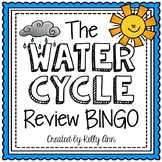 Water Cycle Activity - Review Bingo