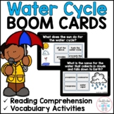 Water Cycle BOOM CARDS™ for Distance Learning
