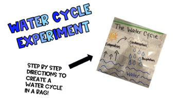 Water Cycle Bag Experiment