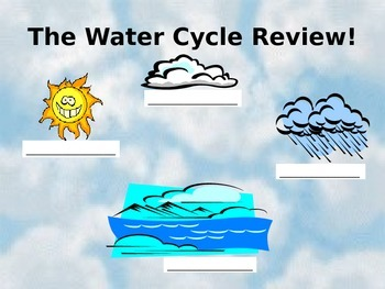 Water Cycle Baggie